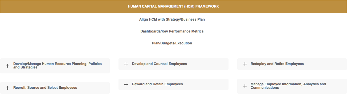 Human Capital Management Framework